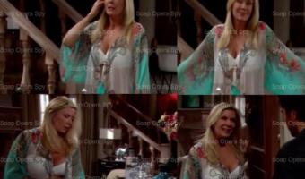 The Bold and the Beautiful Fashion: Get Brooke Logan's Bikini and Silk Kimono For Less – Katherine Kelly Lang's Style!