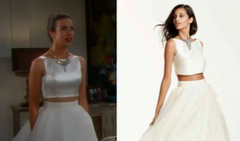'The Bold and the Beautiful' Fashion: Get Ivy Forrester's Wedding Dress For Less – Ashleigh Brewer's Style!