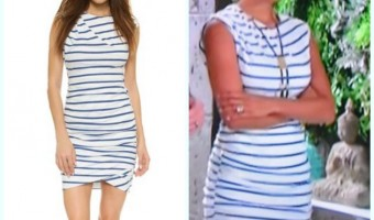 'The Young and the Restless' Fashion: Get Lily Winters' Striped Dress For Less – Christel Khalil Style!