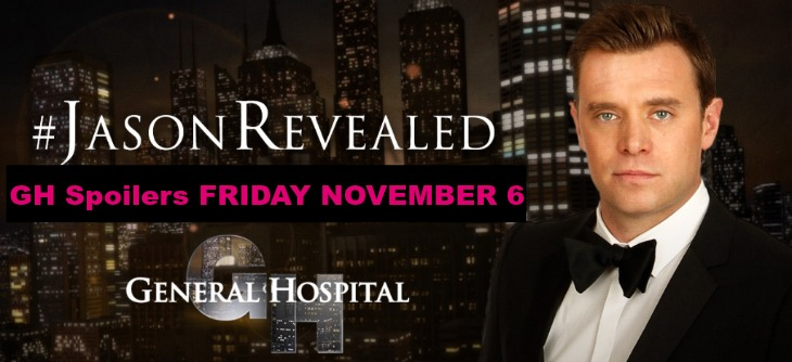 'General Hospital' (GH) Spoilers Friday November 6: Carly Tells Jake He's Jason - Hayden Blasts Liz, Admits Memories Returning, Paul Helps Ava