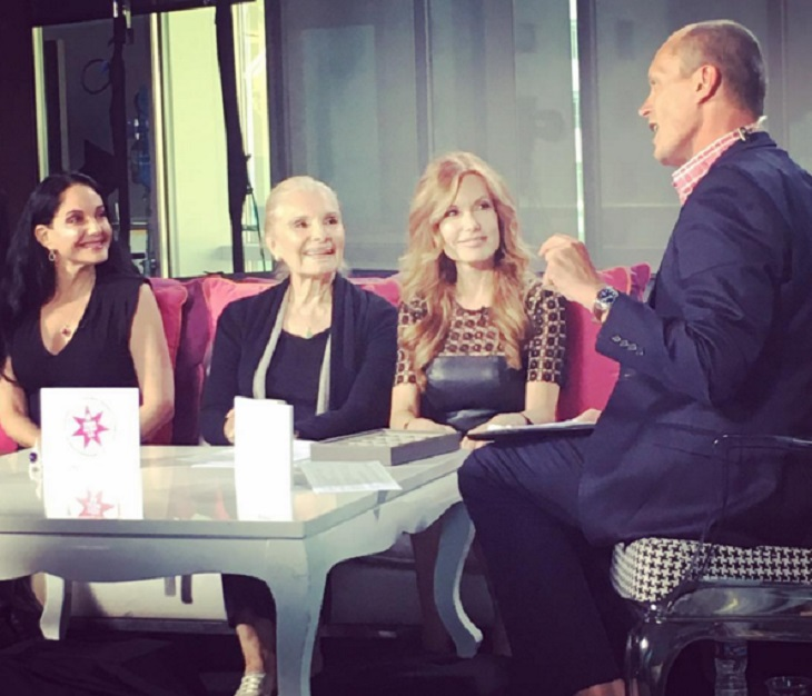 'The Young And The Restless' News: Tracey Bregman Debuts New Jewelry Line On Australian TVSN, Live From Los Angeles