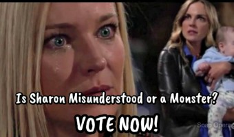 'The Young and The Restless' POLL: Is Sage Right? Is Sharon at Fault for Christian Scheme? VOTE!