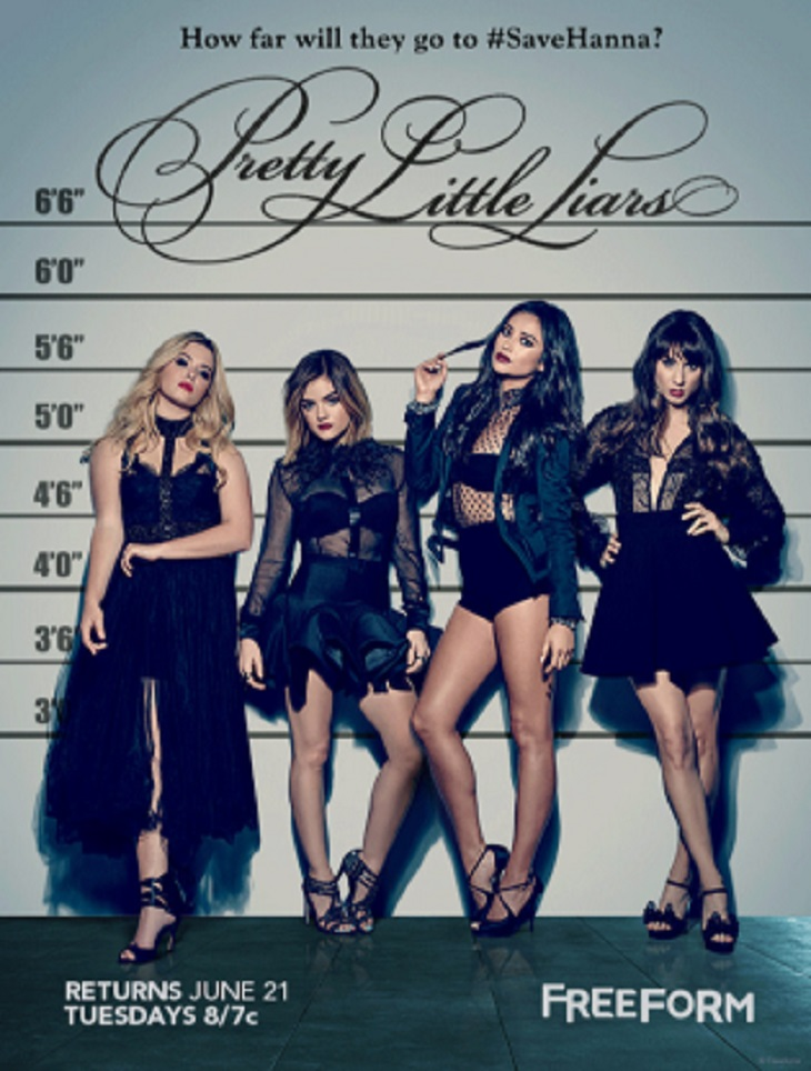 'Pretty Little Liars' Season 7 Spoilers: Ashley Benson Missing From New 'PLL' Poster - Is Hanna Marin Dead?