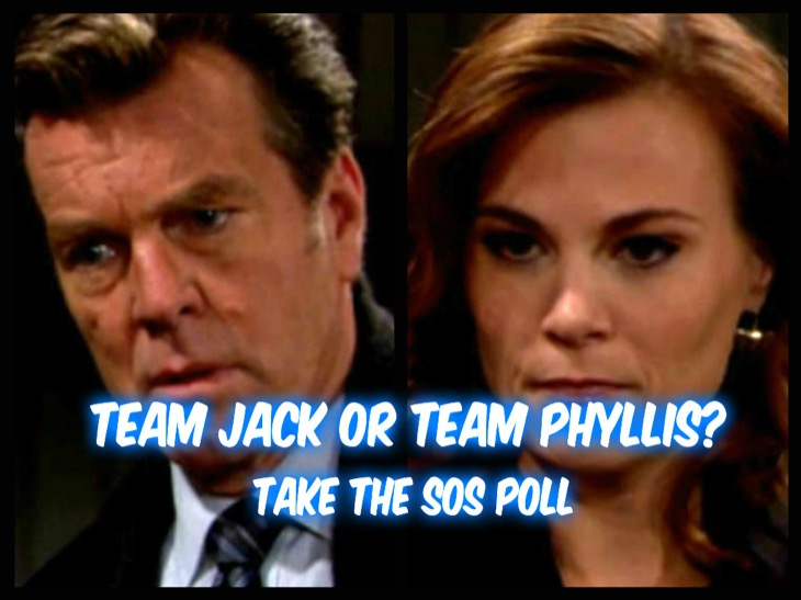'The Young and the Restless' POLL: Are You on Team Jack or Team Phyllis? VOTE!