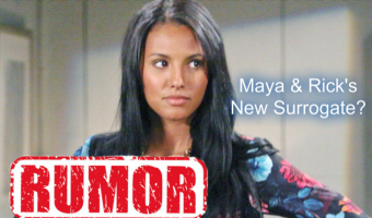 'The Bold and the Beautiful' RUMOR: Sasha's Maya and Rick's New Surrogate?