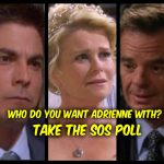 'Days of Our Lives' POLL: Who Do You Want Adrienne With? VOTE!