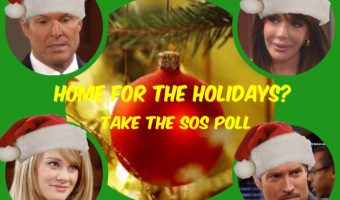 'The Bold and The Beautiful' POLL: Which B&B Character Would Like To See Come Home For The Holidays? VOTE!