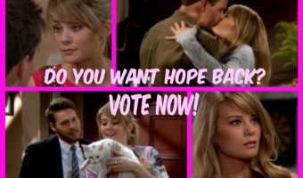 'The Bold and the Beautiful' POLL: Do You Want Hope Logan Back? VOTE!