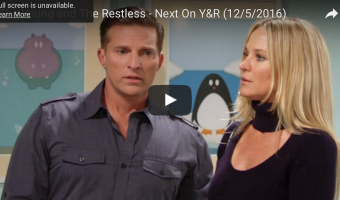WATCH: 'The Young and The Restless' Preview Video Monday, December 5