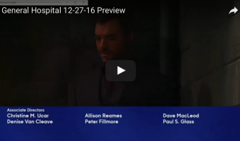 WATCH: 'General Hospital' Preview Video Tuesday, December 27