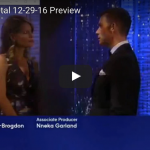WATCH: 'General Hospital' Preview Video Thursday, December 29