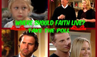 'The Young and The Restless' POLL: Who Should Faith Newman Live With? VOTE
