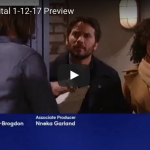 WATCH: 'General Hospital' Preview Video Thursday, January 12