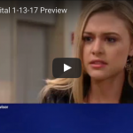 WATCH: 'General Hospital' Preview Video Friday, January 13