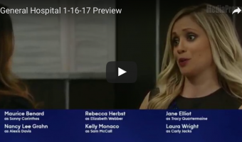 WATCH: 'General Hospital' Preview Video Monday, January 16
