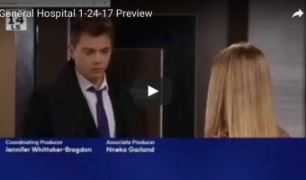 WATCH: 'General Hospital' Preview Video Tuesday, January 24