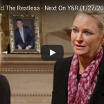 WATCH: 'The Young and The Restless' Preview Video Friday, January 27