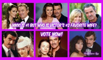 'The Young and the Restless' POLL: Nikki's Victor's Favorite Wife – Who Was His Second Favourite?  VOTE!