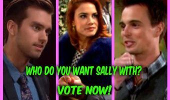 'The Bold and The Beautiful' POLL: Who Should Sally Spectra Be With – Wyatt or Thomas? VOTE!