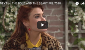 WATCH: 'The Bold and The Beautiful' Preview Video Monday, February 6