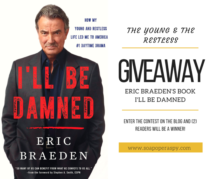 "'The Young And The Restless' Eric Braeden's Memoir ""I'll Be Damned"" Review And Giveaway"