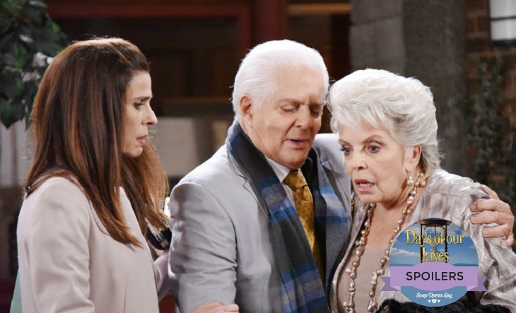 'Days of Our Lives' Spoilers: Anna Rips Into Andre – Sonny Captured by Andre's Minions – Julie Struggles with News of Her Son's Death
