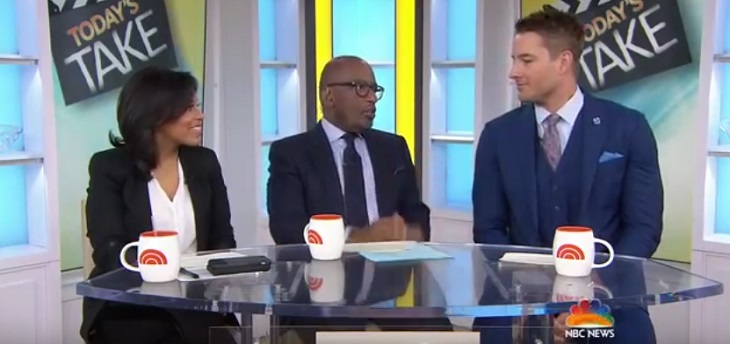 'The Young And The Restless' News: Justin Hartley Dishes 'This Is Us' Spoilers On The Today Show - Watch Here!