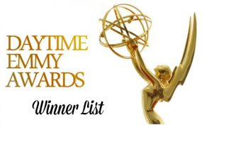 2017 Daytime Emmy Awards Live Updates – 44th Annual Winners List: Check Out Who Wins