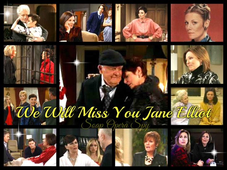General Hospital News: A Tribute to The Incomparable Tracy Quartermaine - Jane Elliot You Will Be Missed