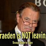 The Young and The Restless Eric Braeden NOT Leaving Y&R – Victor Newman Here To Stay!