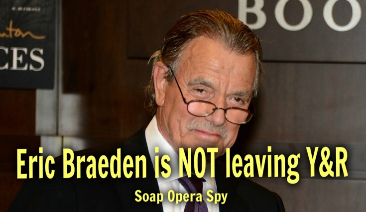 The Young and The Restless Eric Braeden NOT Leaving Y&R - Victor Newman Here To Stay!
