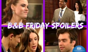 The Bold and the Beautiful Spoilers: Lt. Baker Prepares to Arrest Sally – Thomas Takes Pity on His Ex, Infuriates Forresters