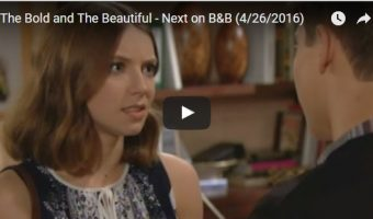 WATCH: The Bold and The Beautiful Preview Video Wednesday, April 26