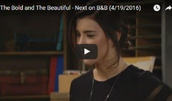 WATCH: The Bold and The Beautiful Preview Video Wednesday, April 19