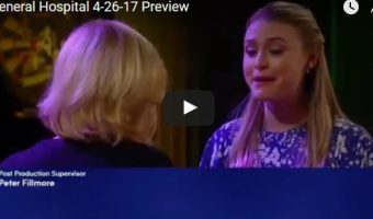 WATCH: General Hospital Preview Video Wednesday, April 26