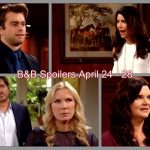 The Bold and the Beautiful Spoilers Week of April 24 to 28: Katie and Quinn Clash – Bill Vows To Expose Ridge's Secret – Thomas Feels Bad