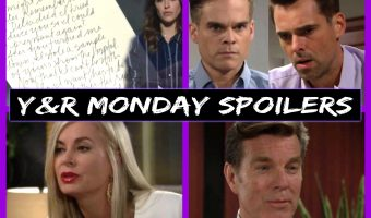 The Young and The Restless Spoilers Monday April 24: Billy and Kevin Shocker, Both Take Bella DNA Test – Abby and Jack's Goals Collide – Michael Warns Scott
