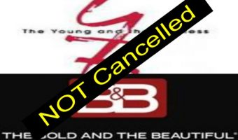 The Young and The Restless & The Bold and the Beautiful NOT CANCELLED!!
