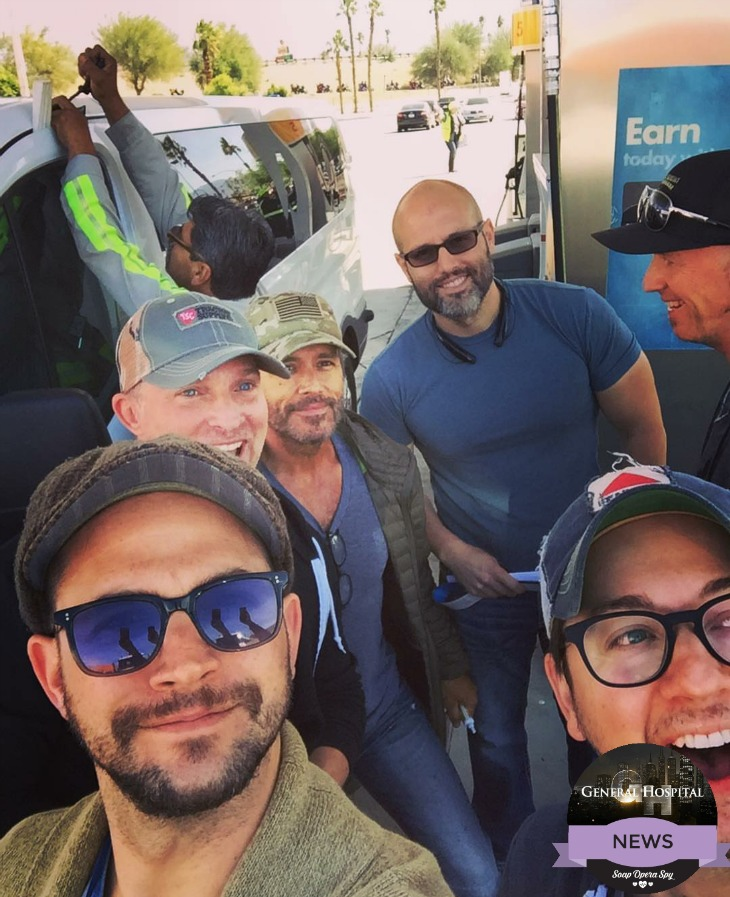 General Hospital News: Brandon Barash Getting Down - Watch Port Chuck Band Practicing