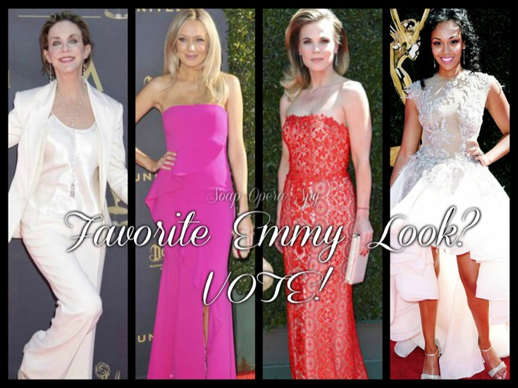 The Young and The Restless Poll: What Is Your Favorite Y&R Emmy Look? VOTE!
