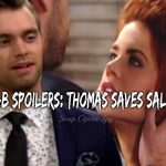 The Bold and the Beautiful Spoilers: Thomas Saves Sally – Will He still Lose Her?