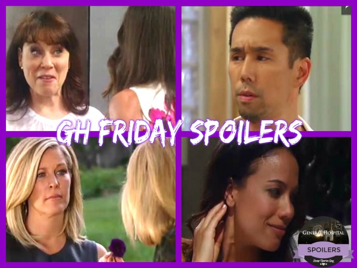 General Hospital Spoilers: Friday May 19th -Sonny Tempts Martina - Ava Threatens Carly- Jake's Magic Debut - Brad is Busted - Anna and Alex Come Face to Face