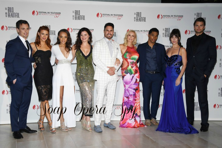 The Cast Of B&B Attend The Bold and The Beautiful 30th Years Anniversary - 57th Monte Carlo TV Festival