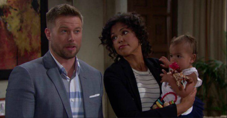 The Bold and the Beautiful POLL: Custody Battle In the Works- Will Nicole Try to Take Lizzy?