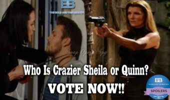 The Bold and the Beautiful POLL: Who is Crazier – Quinn Forrester or Sheila Carter? VOTE!
