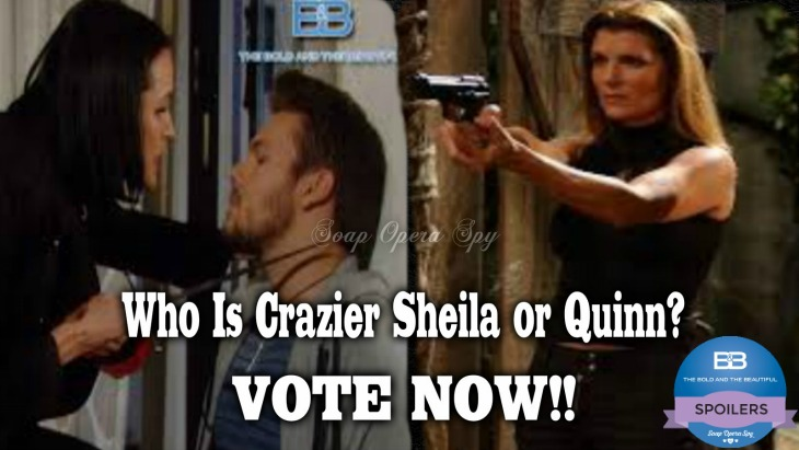 The Bold and the Beautiful POLL: Who is Crazier – Quinn Forrester or Sheila Carter?