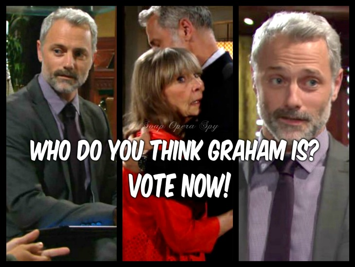 The Young and the Restless POLL: Who Do You Think Graham Bloodworth Is? VOTE!