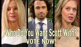 The Young and the Restless Poll: Do You Want Scott With Sharon Or Abby? VOTE!