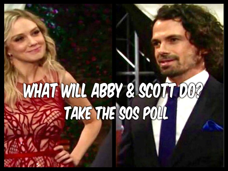The Young and the Restless POLL: Do You Think Abby With End Up With Scott? VOTE!