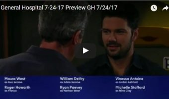 WATCH: General Hospital Preview Video Monday July 24